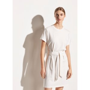 VinceWaist Tie Dress