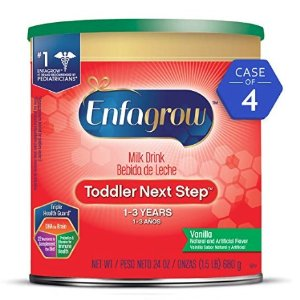 From $52.16Enfagrow PREMIUM Non-GMO Toddler Transitions Formula - Powder can, 20 oz & More @ Amazon
