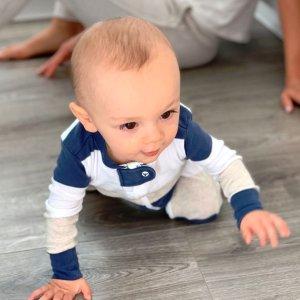 低至$9.77 宽松款睡衣也参加Burt's Bees Baby 婴幼童有机棉睡衣特卖