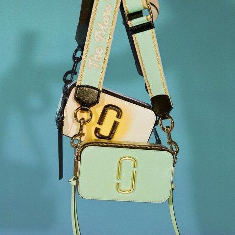 7.5折 $225收新款Marc Jacobs 小马哥相机包热卖 夏日新色彩虹款也参加