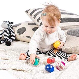 $5.20 (原价$10.99)Baby Einstein 游戏球套装 安抚玩乐好伙伴