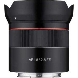 $299 仅145g史低价:Samyang AF 18mm f/2.8 FE Sony E 镜头
