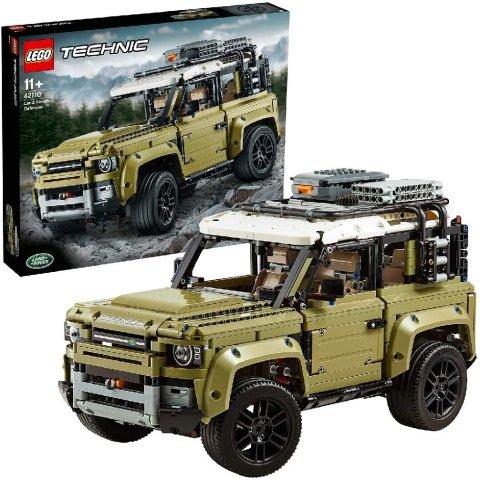 7.5折起 £75收道奇挑战者Lego 科技系列合集 部分可手机操控 科技感满满