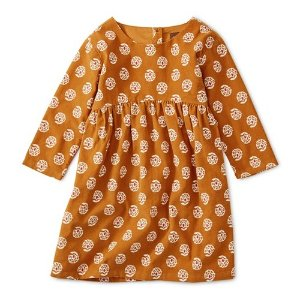 Tea Collection女小童灯芯绒连衣裙