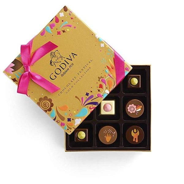 松露巧克力礼盒9粒