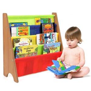 $32.29(原价$49.52)HOMFA 儿童四层书架