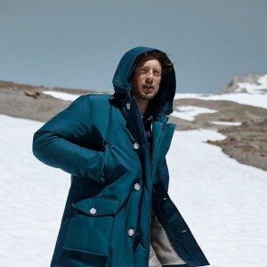 史低7折+包邮 折后€562入手超罕见:Woolrich 基础款极光派克大衣 永不出错的经典款