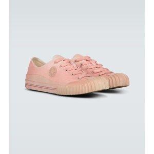 Acne Studios饼干帆布鞋