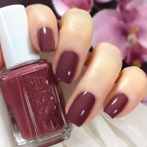 $4.6essie nail polish, angora cardi, deep rose purple nail polish, 0.46 fl. oz.