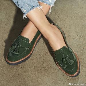 低至3.8折 凉鞋$39Naturalizer 折扣区断码清仓 尖头拼接平底鞋$49