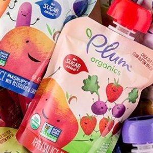 7.5折+额外9.5折+包邮Plum Organics 有机婴儿辅食热卖,营养又健康