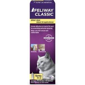 $12.47 (原价$34.99)Feliway 猫咪减压舒缓心情喷雾 60ml