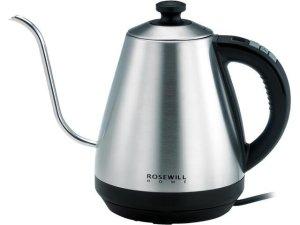 $24.99 包邮Rosewill 不锈钢可调温鹅颈电热水壶 1L