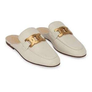 Tod's新款穆勒鞋 黑白两色选