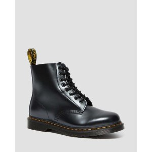 DR MARTENS 1460 PASCAL CHROMA METALLIC LEATHER BOOTS