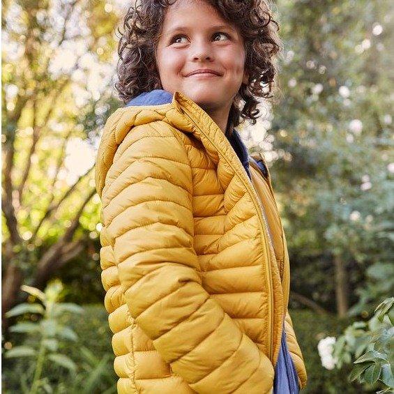 儿童可折叠防雨保暖夹克