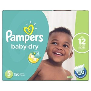 Diapers Size 5 - Pampers Baby Dry 纸尿裤
