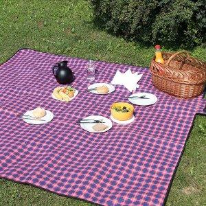 防水野餐布€10.99紫罗兰踏青春游必备好物:露营帐篷、野餐垫、外带盒全配齐