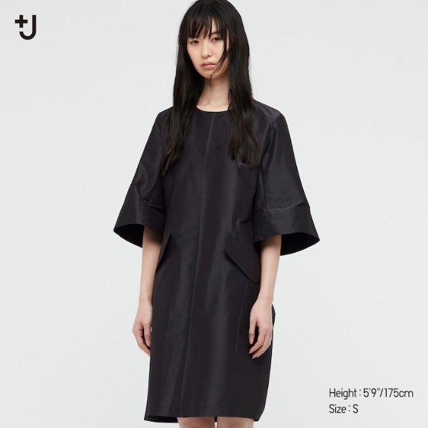 丝光连衣裙