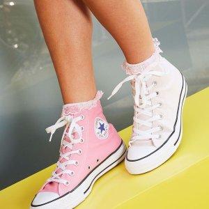 5折起+全场额外6折+免邮延长一天:DSW 美鞋特卖 匡威帆布$28 耐克AirMax鞋$47
