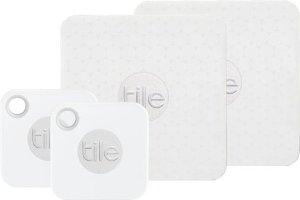 $39.99 专治丢三落四限今天:Tile Mate & Slim 物品追踪器套装一日促销