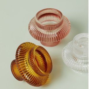 H&M玻璃烛台 多色可选