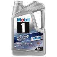 Mobil 1 5W-30 全合成高里程机油 5夸脱