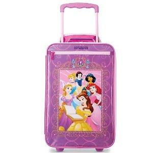 封面款$31.5收American Tourister 女童迪士尼公主行李箱特卖