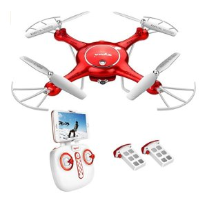 DoDoeleph Drone with HD Camera FPV Real-time WiFi Gravity Control RTF RC Quadcopter