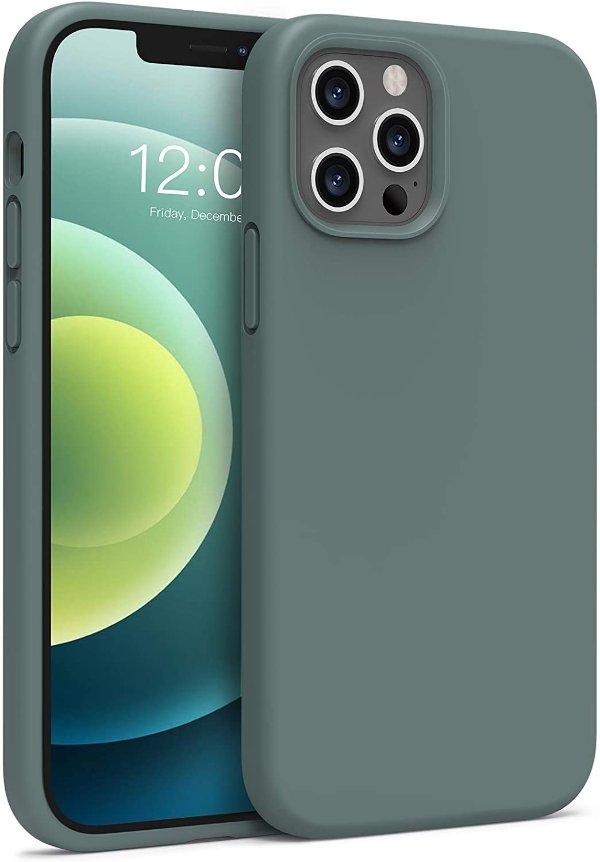 Boomdio iPhone 12/12 Pro 液态硅胶手机壳