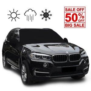 $12.99  (原价$20.99)闪购:Chanvi  黑色汽车挡风玻璃防雪罩