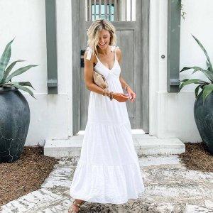 一律$25 + 免邮Express 美裙特卖 夏季款上新,缎面、蕾丝、碎花裙都有