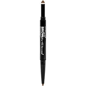 Maybelline New York Brow Define Plus Fill Duo Makeup, Black Brown, 0.021 Ounce