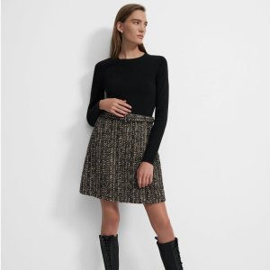 Extra 30% OffTheory Women's Shirt Dress on Sale