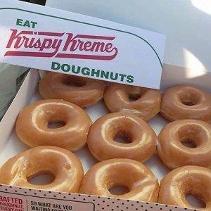 一打$5限今天:Krispy Kreme 原味甜甜圈特卖