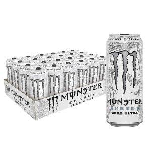$26.99Monster Energy Zero Ultra, Sugar Free Energy Drink, 16 Ounce (Pack of 24)