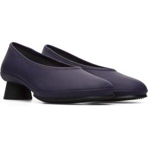 Camper紫色高跟鞋