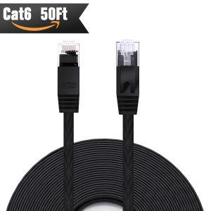 $12.65 (原价$29.95)闪购:CableMonsta Cat6 50ft 网线
