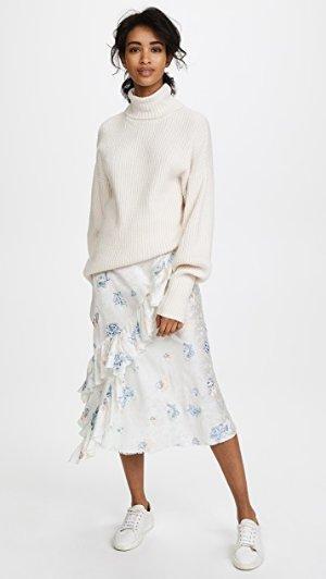 Jourden Bias Midi Skirt | SHOPBOP