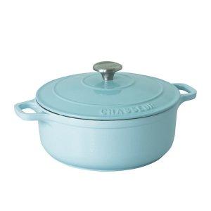 蓝色铸铁锅
