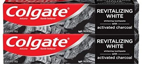 Colgate 活性炭美白牙膏 4.6oz 2只装