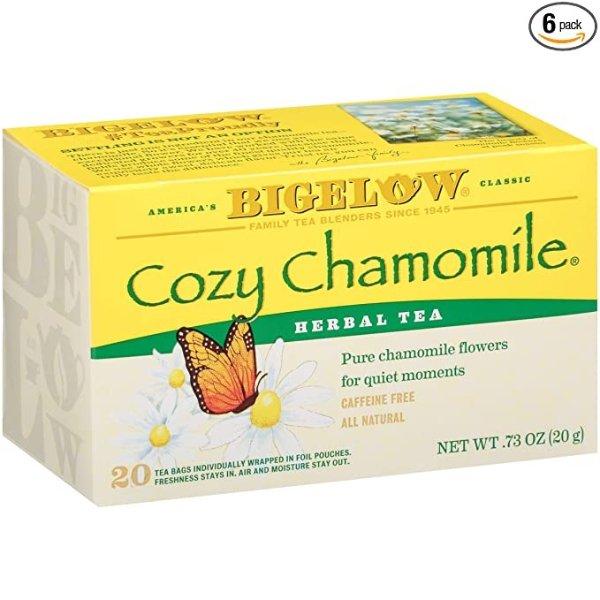 Bigelow 洋甘菊茶 20包 6盒