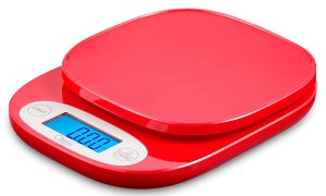 $8.62Ozeri ZK420 多功能LCD屏厨房秤  红色