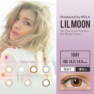 Up to $10.11 + Free International ShippingLIL MOON 1Day Disposable Colored Contact Lens 10 pcs