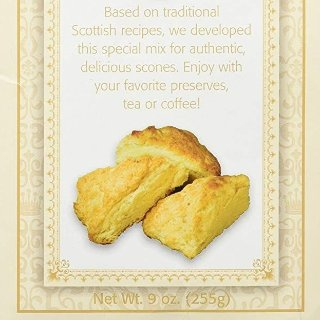 $7.19 + Free ShippingGarvey's Best Of British Traditional Organic Scone Mix, 9 Ounce