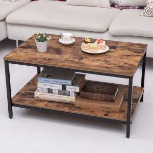 KOZYSPHERE 木纹咖啡桌 31.5英寸