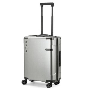 Spinner Case Brushed Silver 55cm