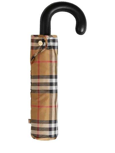 经典格纹雨伞