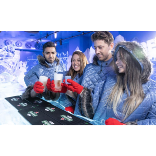 在酒吧也能体验极寒冰屋的乐趣柏林 Ice Bar 限时6.7折 3杯酒水饮料每人只需€12.99