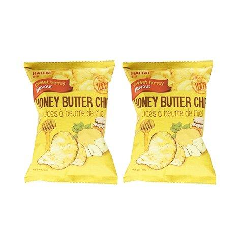 【2%返点】2袋海太蜂蜜黄油薯片
